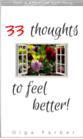 33 Thoughts to Feel Better